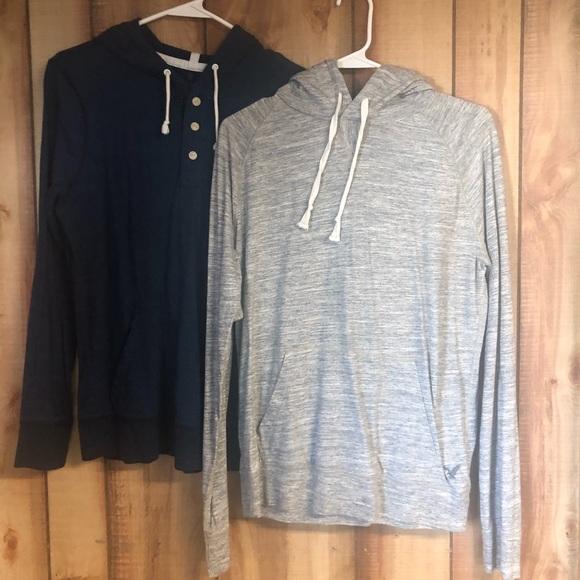 Bundle of 2 American Eagle LS hoodie pullover XS